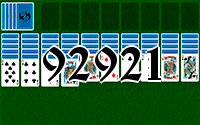 Solitaire №92921