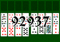 Solitaire №92937