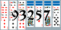 Solitaire №93257