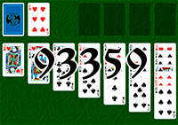 Solitaire №93359