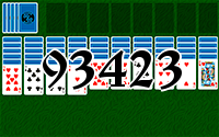 Solitaire №93423
