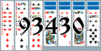 Solitaire №93430