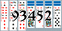 Solitaire №93452