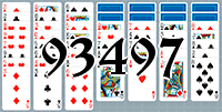 Solitaire №93497
