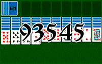 Solitaire №93545