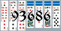 Solitaire №93686