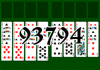 Solitaire №93794