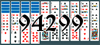 Solitaire №94299