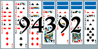 Solitaire №94392