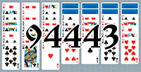 Solitaire №94443