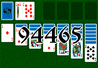 Solitaire №94465