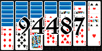 Solitaire №94487