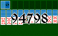 Solitaire №94798