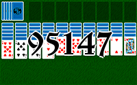 Solitaire №95147