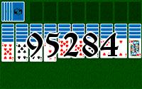 Solitaire №95284