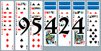 Solitaire №95424
