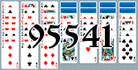 Solitaire №95541