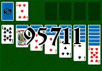 Solitaire №95711