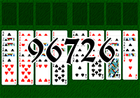 Solitaire №96726