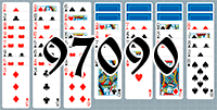 Solitaire №97090