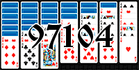 Solitaire №97104