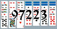 Solitaire №97223