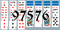 Solitaire №97576