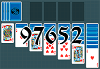 Solitaire №97652