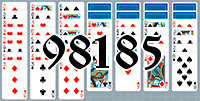 Solitaire №98185