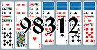Solitaire №98312