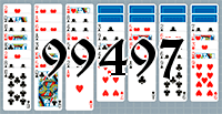 Solitaire №99497