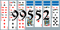 Solitaire №99552