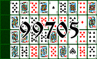 Solitaire №99705