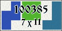 Polyomino №100385