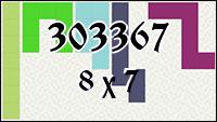 Polyomino №303367