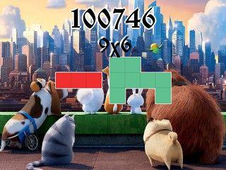 Puzzle полимино №100746