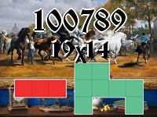Puzzle полимино №100789
