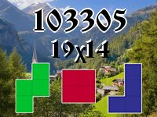 Puzzle полимино №103305
