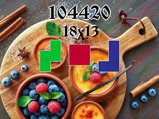 Puzzle полимино №104420