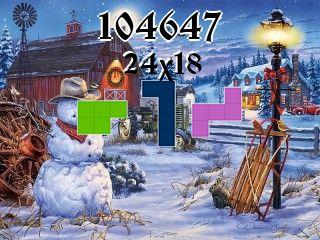 Puzzle полимино №104647