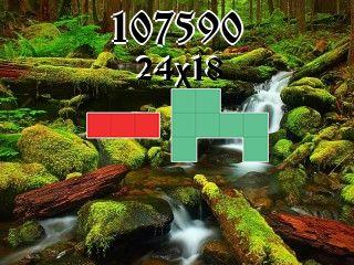 Puzzle полимино №107590