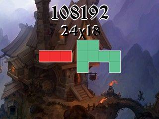 Puzzle полимино №108192