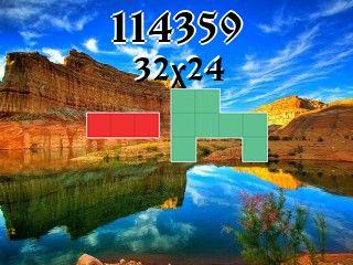 Puzzle полимино №114359