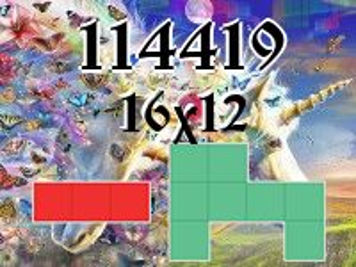 Puzzle полимино №114419