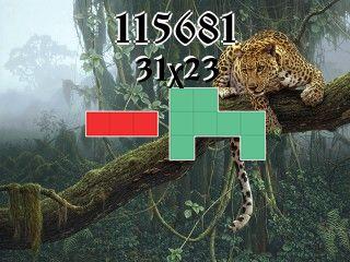 Puzzle полимино №115681