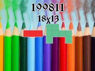Puzzle полимино №199811