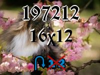 Puzzle changeling №197212