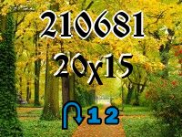 Puzzle changeling №210681