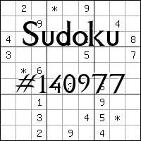 Sudoku №140977