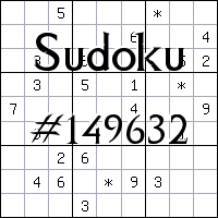 Sudoku №149632